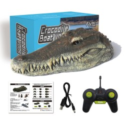 Flytec V005 2.4G - electric RC boat with crocodile head - RTR toy